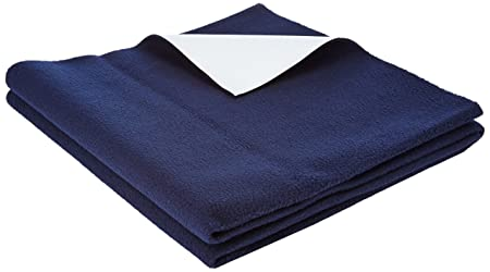 Quick Dry Waterproof Bed Protector Large - NavyBlue, L