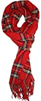 Ted and Jack - Ted's Classic Cashmere Feel Checkered or Plaid Scarf
