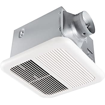 Delta Breezslim Slm70 70 Cfm Exhaust Bath Fan White 2