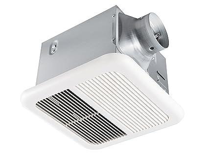 Excellent Tech Drive Super Quiet 110 Cfm 1 0 Sone Bathroom Ventilation And Exhaust Fan 110Cfm Home Interior And Landscaping Ologienasavecom
