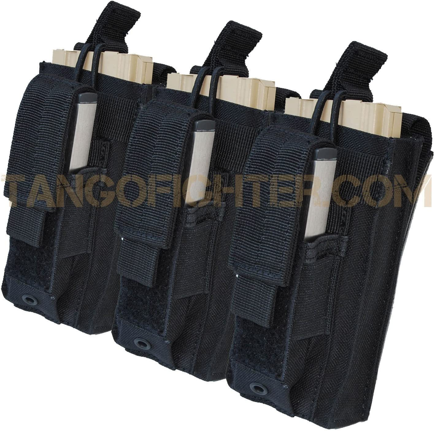 B0048Z9YPA Condor MA55 Triple Kangaroo Mag Pouch, Olive Drab 81xGbCgMJCL