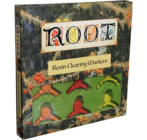 Leder Games: Root - Resin Clearing Markers: Amazon.es: Juguetes y juegos