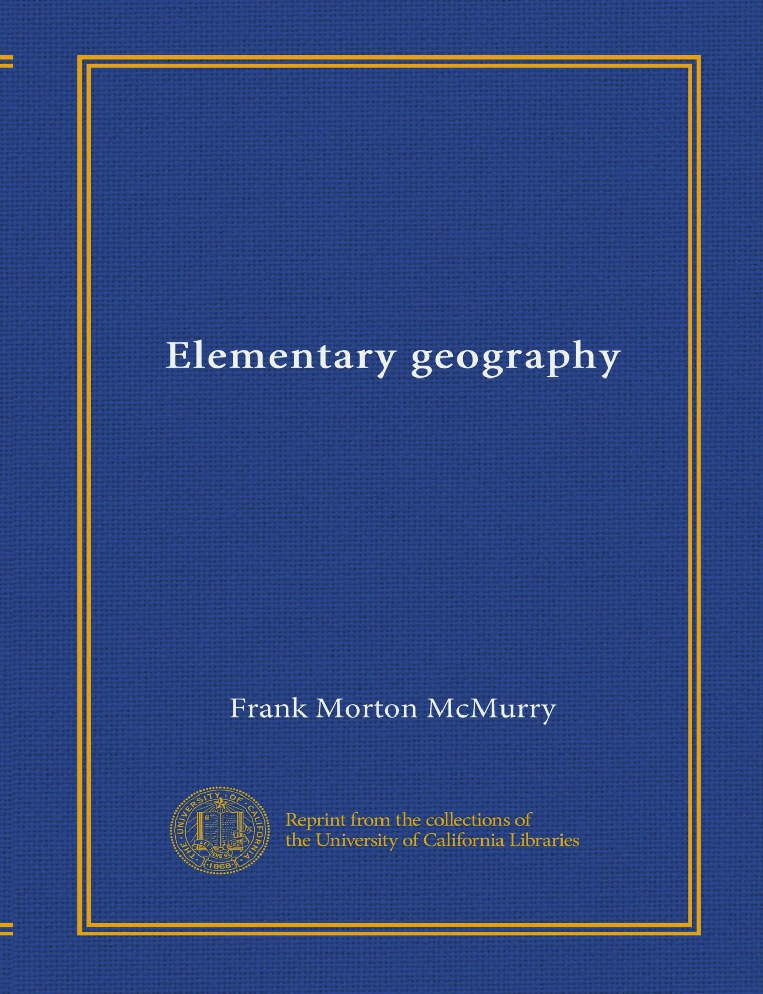 Download Elementary geography PDF