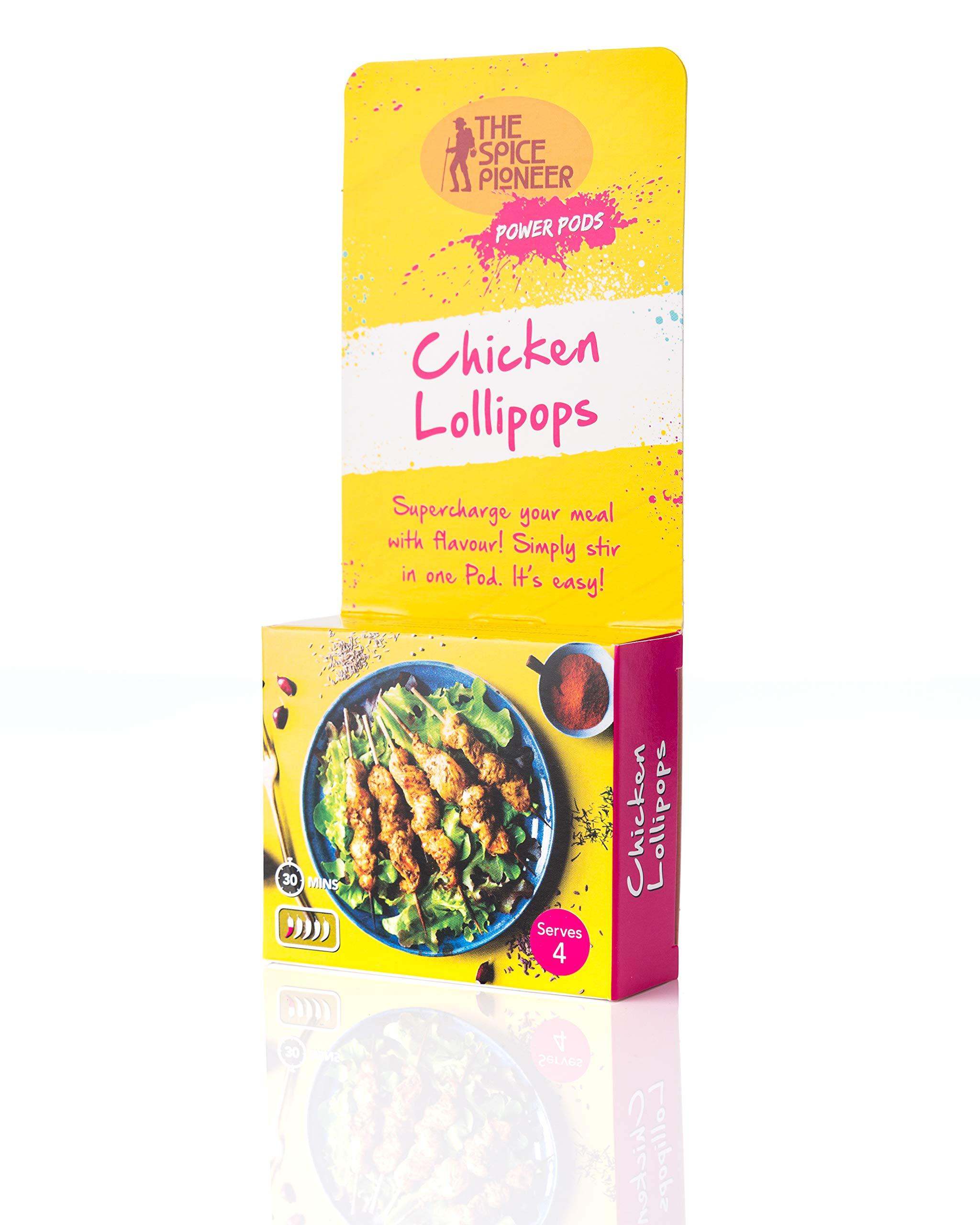 Spice Pioneer Power Pods (Chicken Lollipops)