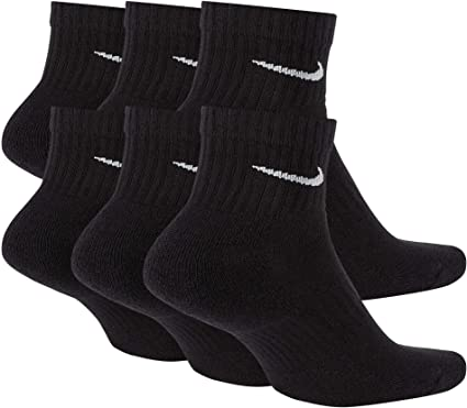 Doctrina Encantador Mentor  Amazon.com: Nike Everyday Cushion Ankle Training Socks (6 Pair): Clothing