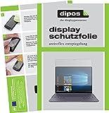 dipos I 2X Schutzfolie matt passend für Huawei MateBook X Folie Displayschutzfolie