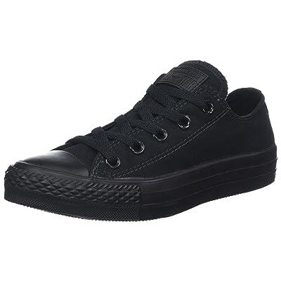 Converse Chuck Taylor A/S OX Big Kids Sneakers Black/Monochrome: Shoes