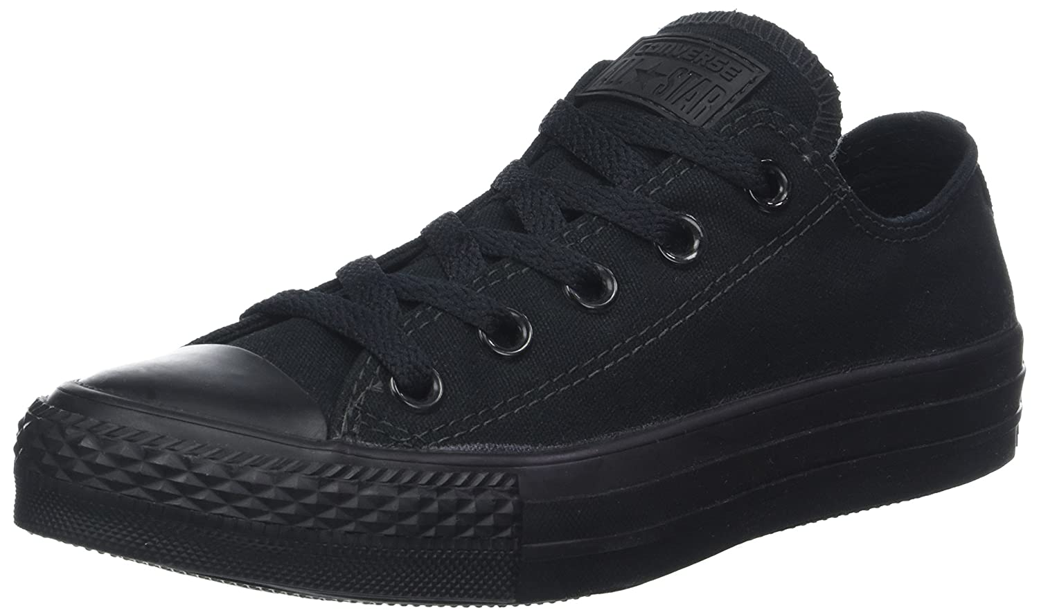 Converse Men's Chuck Taylor All Star Seasonal Ox B000FY2A4A 9.5 B(M) US Women / 7.5 D(M) US Men|Black Monochrome