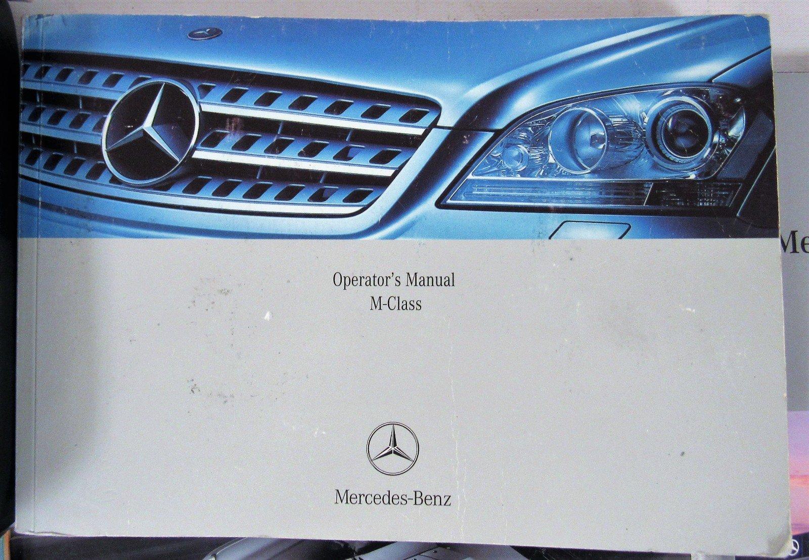 2006 MERCEDES-BENZ ML350 ML500 OWNER'S MANUAL SET: Mercedez-Benz:  0682821521188: Amazon.com: Books