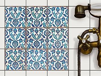 Badezimmer Fliesen überkleben Folie dekor fliesen fliesenaufkleber creatisto fliesensticker