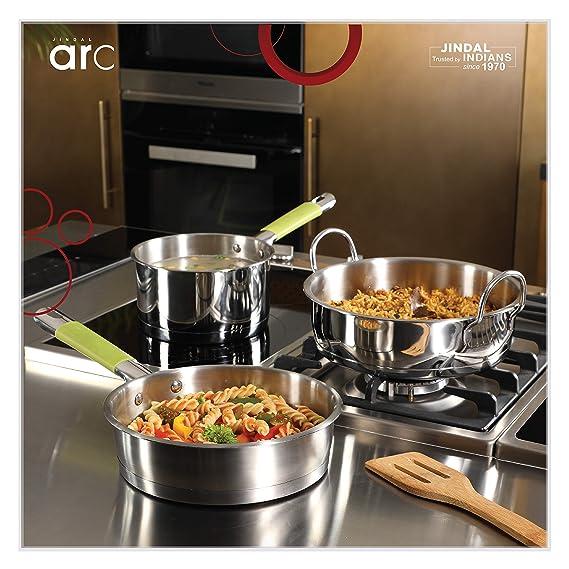 Home Chef COOKWARE Set of 3 Pot   Pan Sets