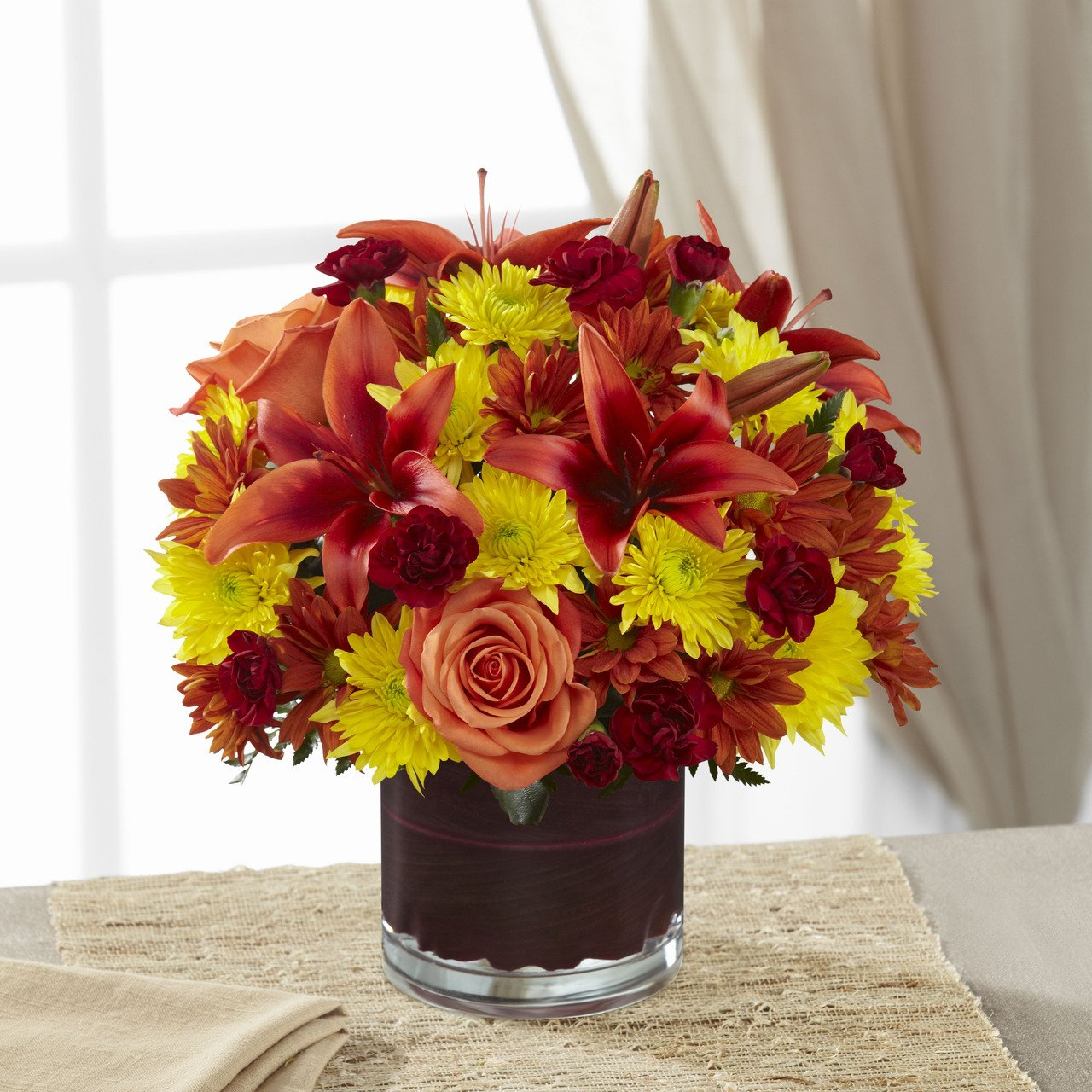 Natural Elegance Bouquet - Fresh Flowers Hand Delivered in Albuquerque Area