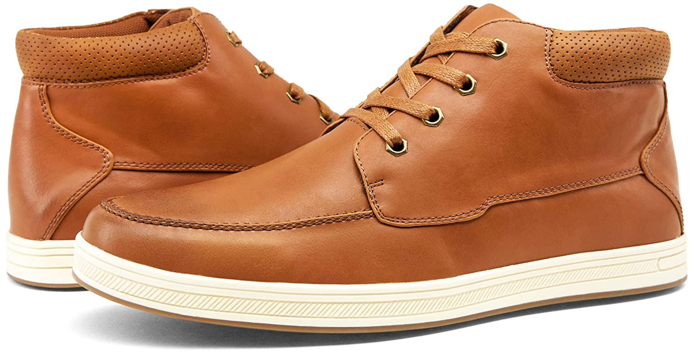 JOUSEN Mens Casual Shoes High Top Fashion Sneaker Lightweight Men Boots Shoes