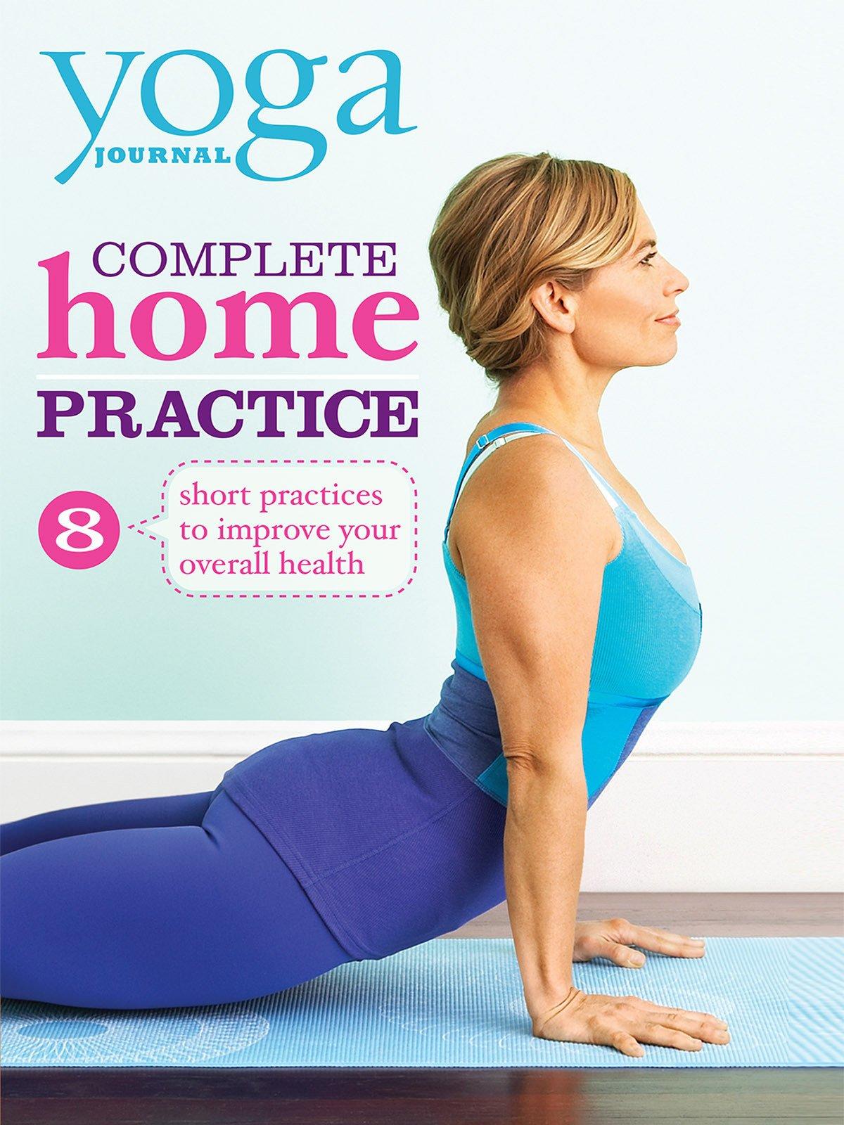 Amazon.com: Yoga Journal: Complete Home Practice ...