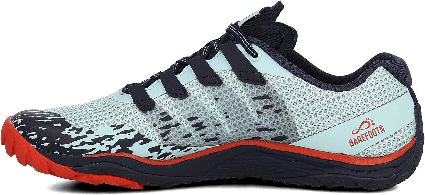 Merrell Trail Glove 5, Zapatillas Deportivas para Interior para Mujer, Azul (Aqua), 42.5 EU: Amazon.es: Zapatos y complementos