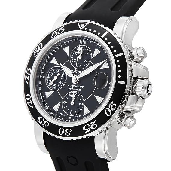 RELOJ MONTBLANC SPORT XXL DE ACERO AUTOMÁTICO DE 3274: Amazon.es: Relojes