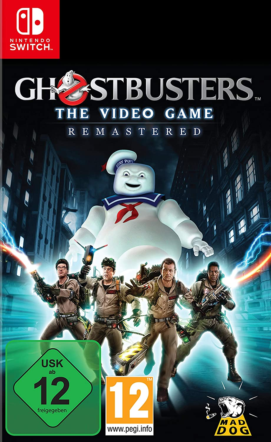 Ghostbusters The Video Game Remastered [Nintendo Switch ...