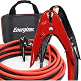 Energizer Jumper Cables, 25 Feet, 1 Gauge, 800A, Heavy Duty Booster Jump Start Cable - 25 Ft Allows You to Boost a Dead Batte