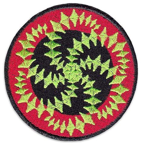 Espiral Mandala parche para planchar Patch arte psicodélico ...