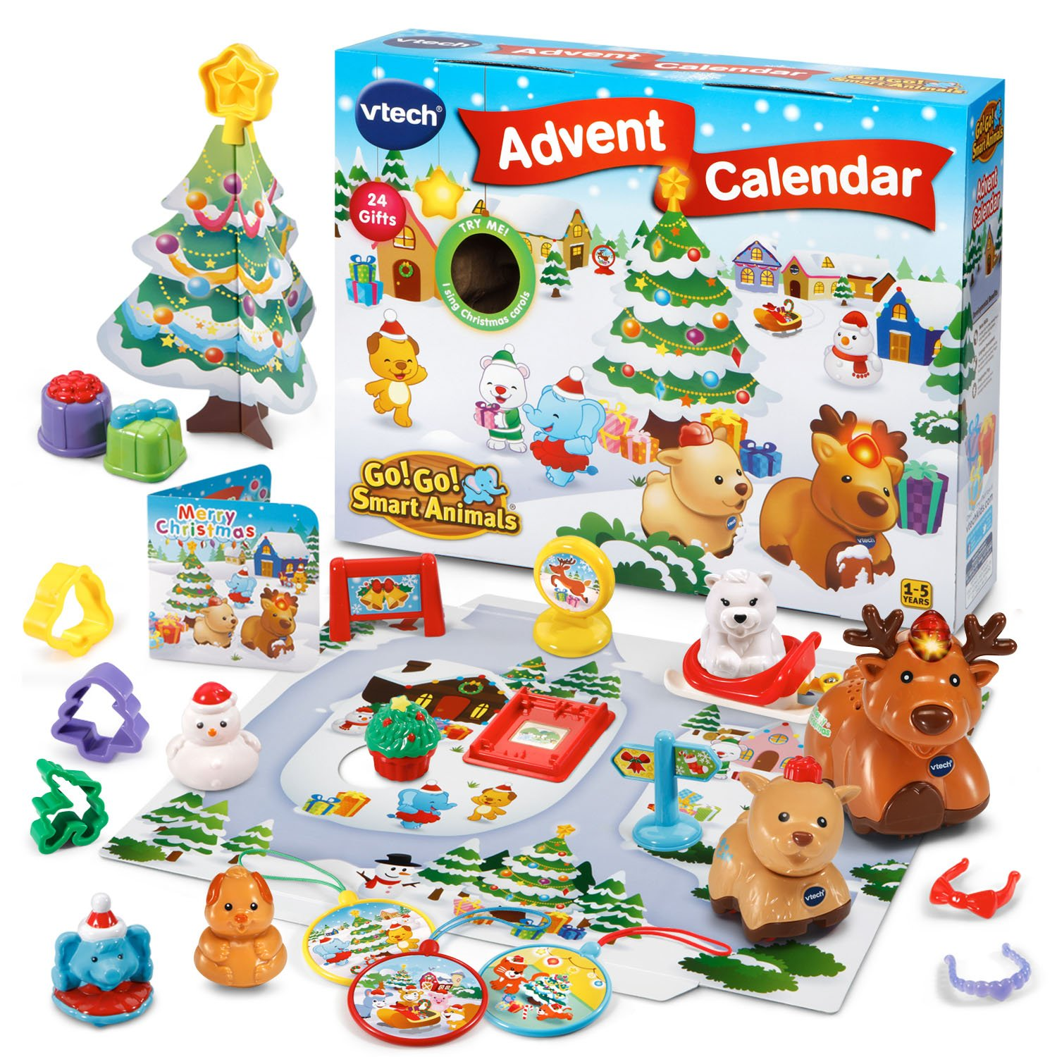 VTech Go! Go! Smart Animals - Advent Calendar 2018