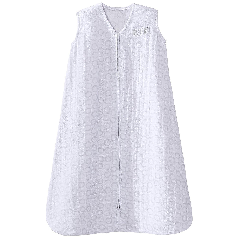 HALO 100% Cotton Muslin Sleepsack Wearable Blanket, Gator Plaid, Medium 3546