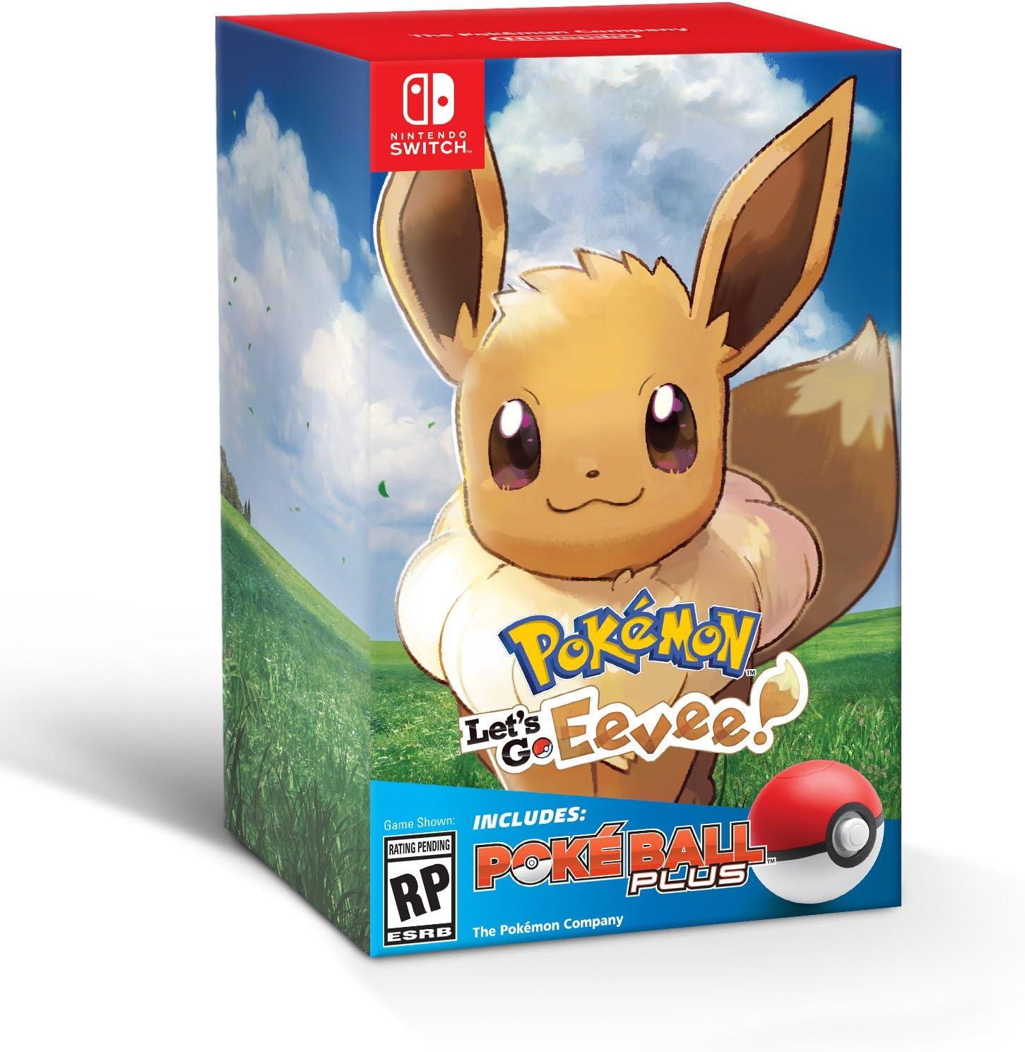 Pokemon Let's Go Eevee + Poke Ball Plus by Nintendo
