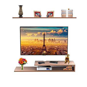 cb8bd5a5e19 Aart Store Wall Set Top Box Stand TV Entertainment Unit - Ideal for Gift.   Amazon.in  Electronics