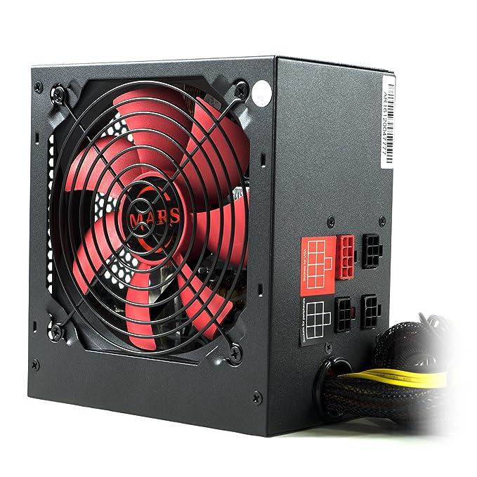 81 opinioni per Mars Gaming MPII850- Alimentatore per PC, (850W,modulare, 12V, PFC attivo, ATX,