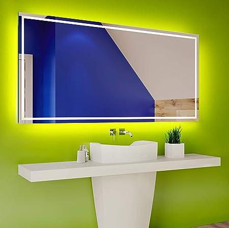 Freddo Bianco L58 FORAM Personalizza Controluce LED Specchio su Misura con Interruttore e Accessori Caldo