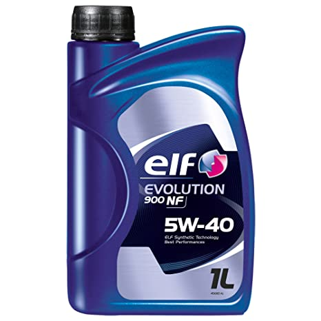 Aceite lubricante coche Elf Evolution 900 NF 5W40 1 lt (8 L=5 lts