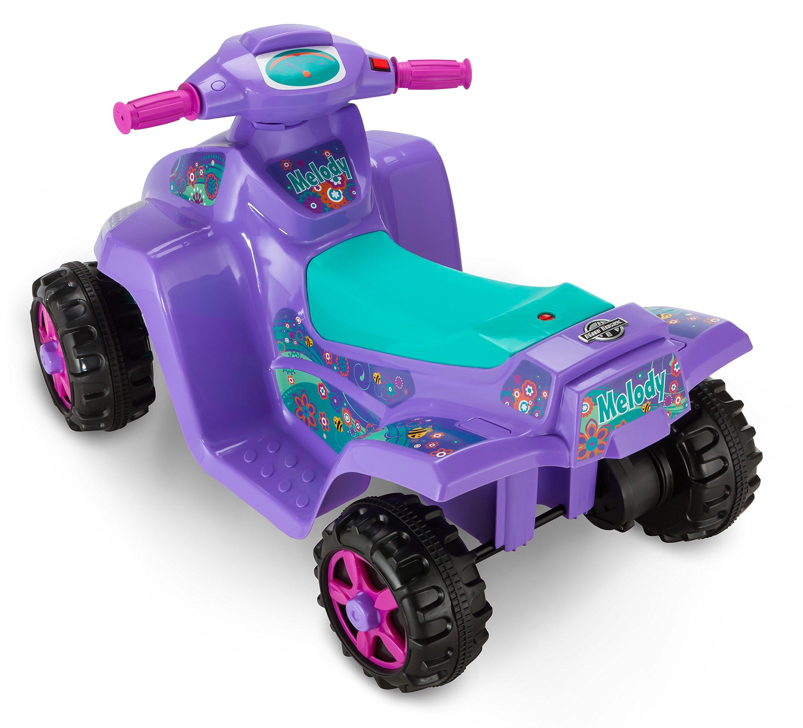 Kid Trax Moto Trax 6V Toddler Quad Ride On, Purple by Kid Trax (Image #2)