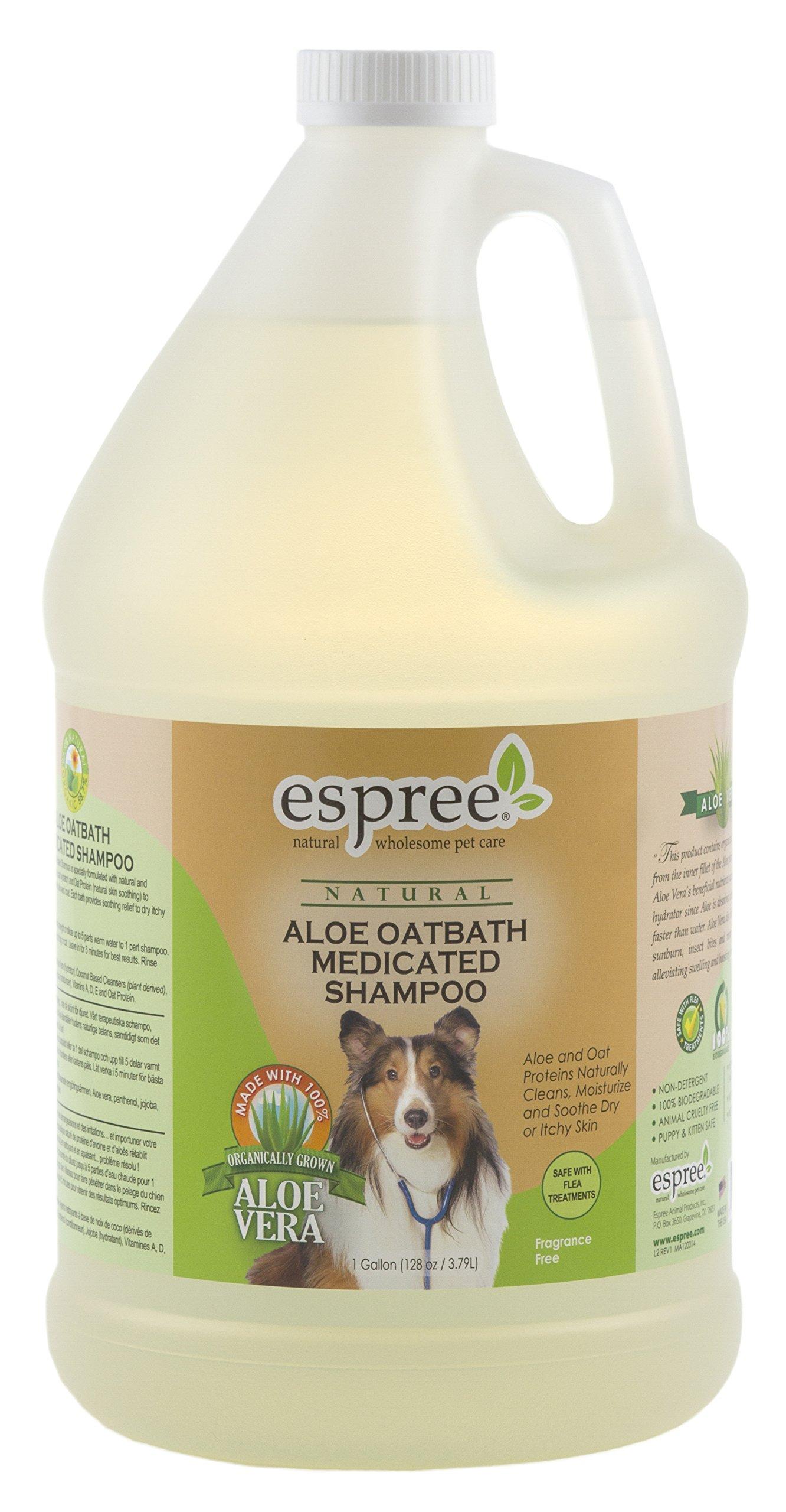 Espree Aloe Oatbath Medicated Shampoo, 1 Gallon by Espree