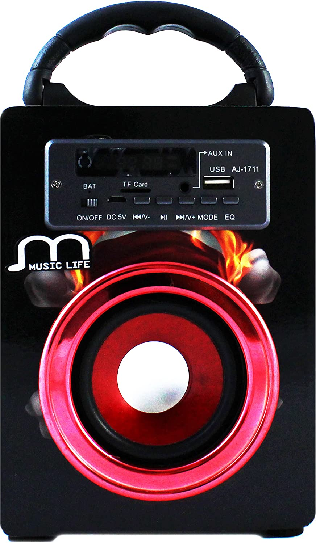Altavoz Bluetooth Portátil Inalámbrico USB Tarjeta TF Mando a ...