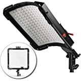 Kamerar BrightCast LED Panel with AC Adapter: Water Resistant, 12x12in, Flexible, Rugged, 256 Bi-Color Chips, Daylight & Tungsten, Dimmable, Slim, Ultra Bright Light for Video Movie