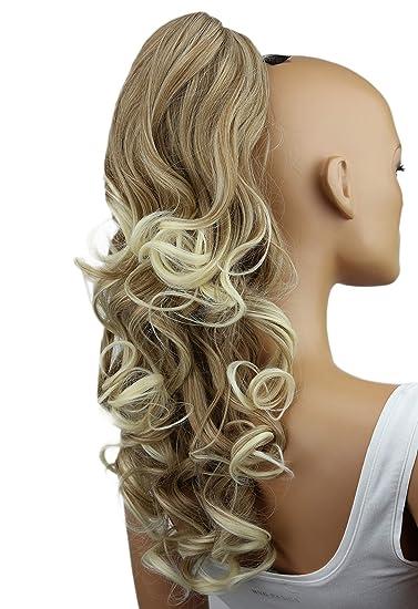 Amazon Com Prettyshop 24 Hair Piece Ponytail Clip On Extension