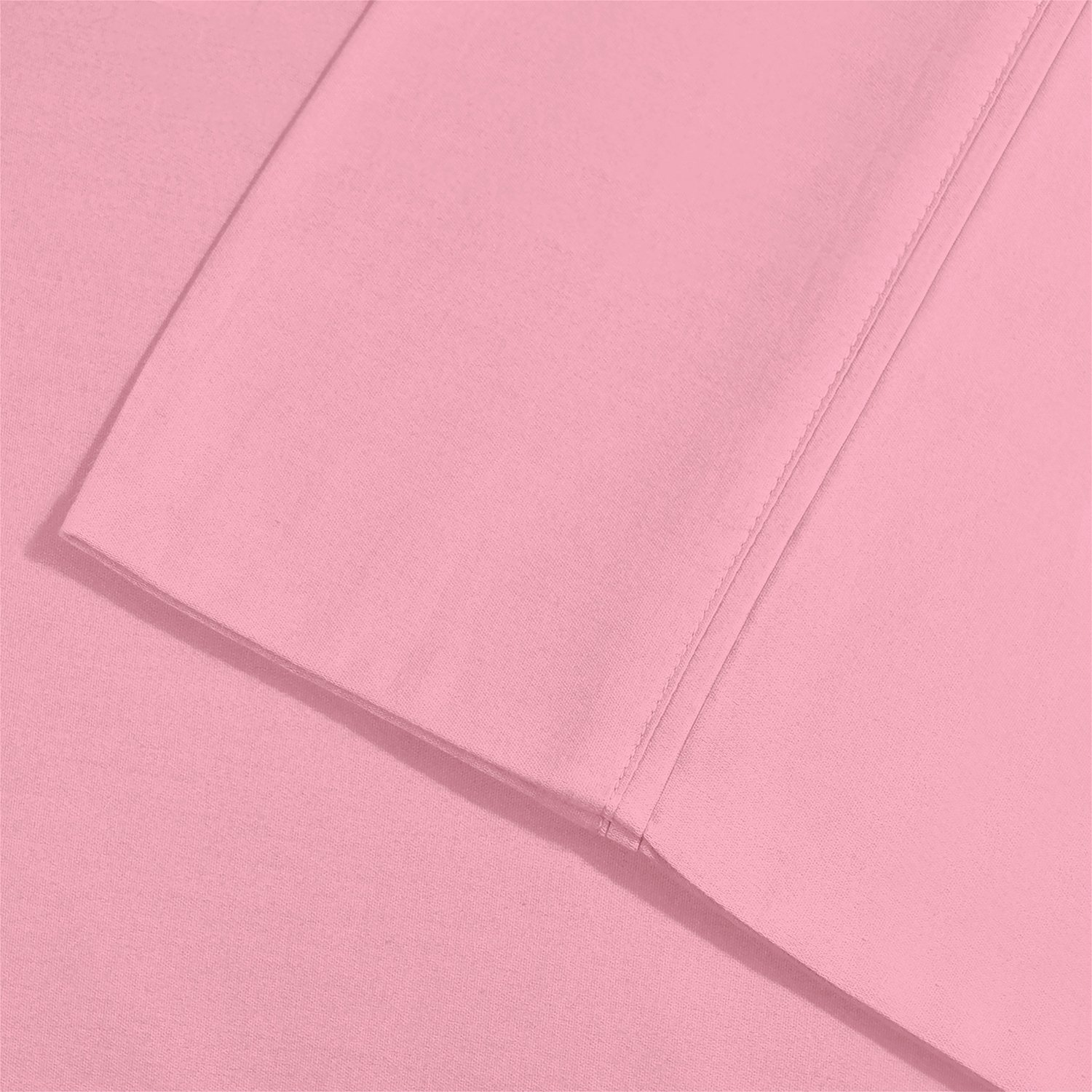 Blue Nile Mills 1500 Series Stnd Pillow Cases (Pair) Microfiber Solid, Pink durable modeling
