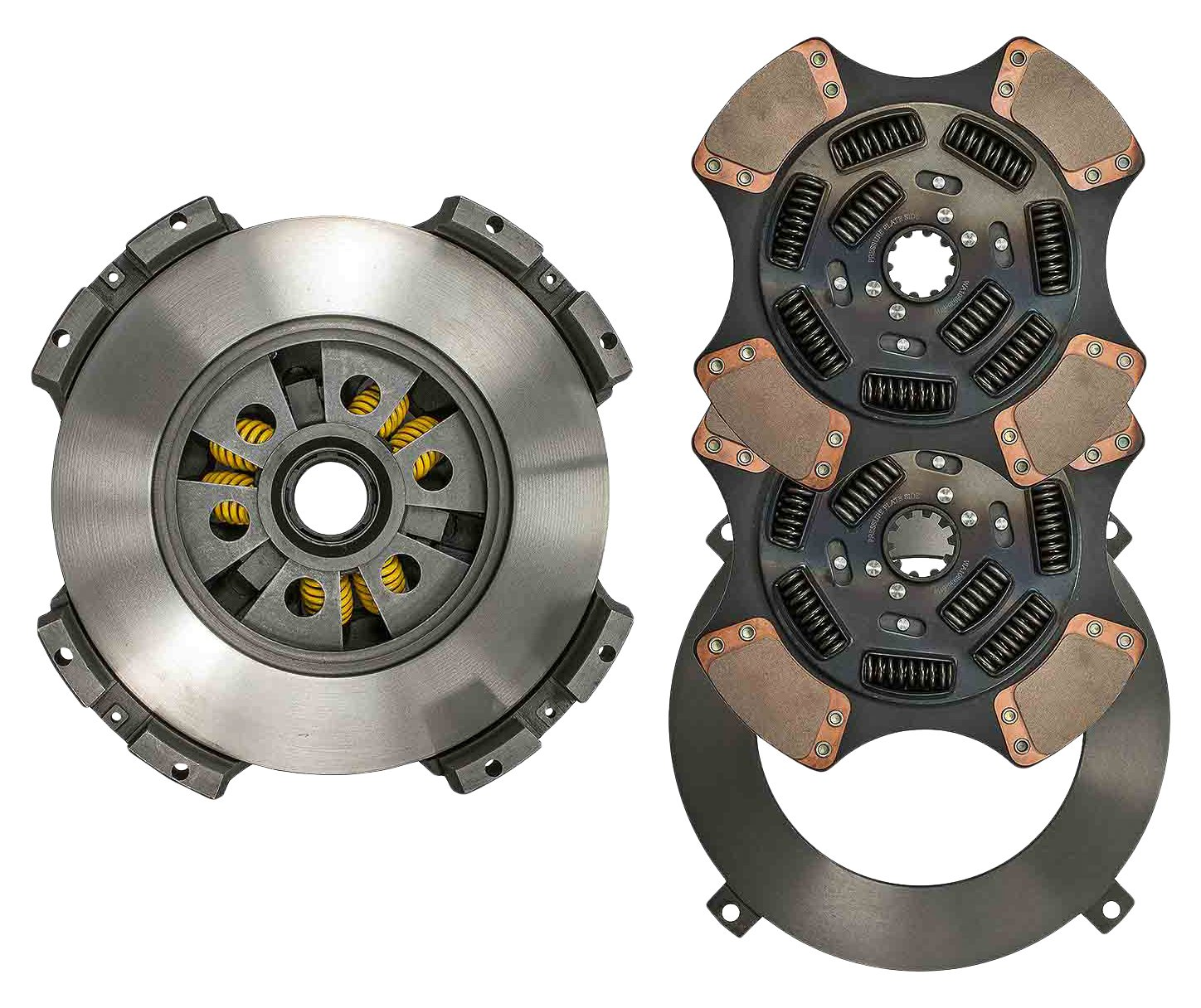 World American WA107935-51BW Clutch Kit (15.5'' x 2'' Standard Ceramic, 4 Paddles, Mack 9 Springs)
