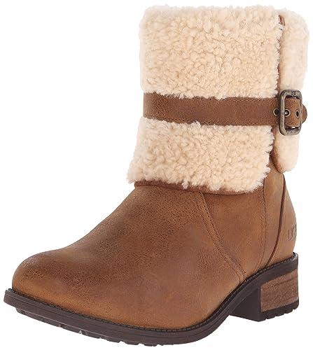 UGG Australia Womens Blayre II Chestnut Leather Boots 36 EU