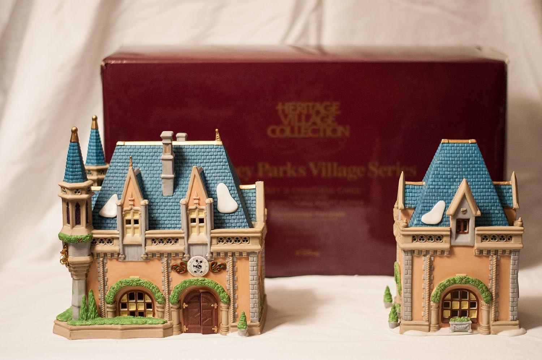 Department 56 Disney Parks Village Series Mickeys Christmas Carol #5350-3