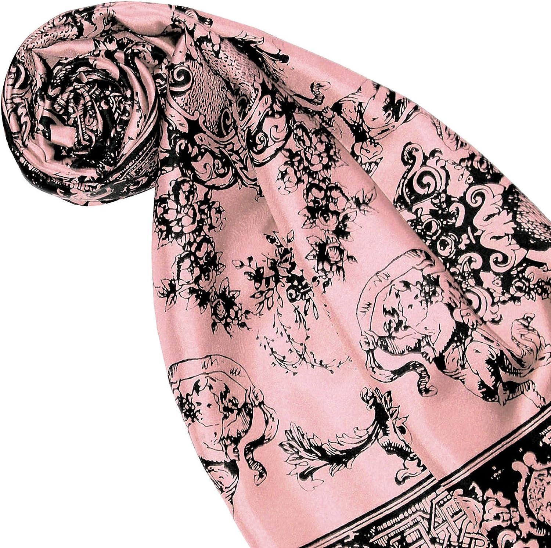 LORENZO CANA Luxus Frauen Seidentuch aufw/ändig bedruckt Tuch 100/% Seide 90 cm x 90 cm harmonische Farben Damentuch Schaltuch 89169