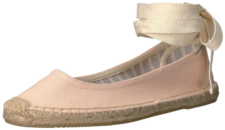 Soludos Women's Tie up Ballet Flat B06WLNN6TK 5 B(M) US Soft Rose
