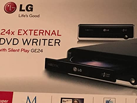 LG Electronics grabadora Externa DVD Super Multi Mdisc ge24nu40 ...