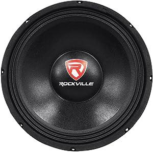 "Rockville 600 Watt Raw Replacement DJ PA Subwoofer 8 Ohm Sub Woofer, 12"" (RVP12W8)"