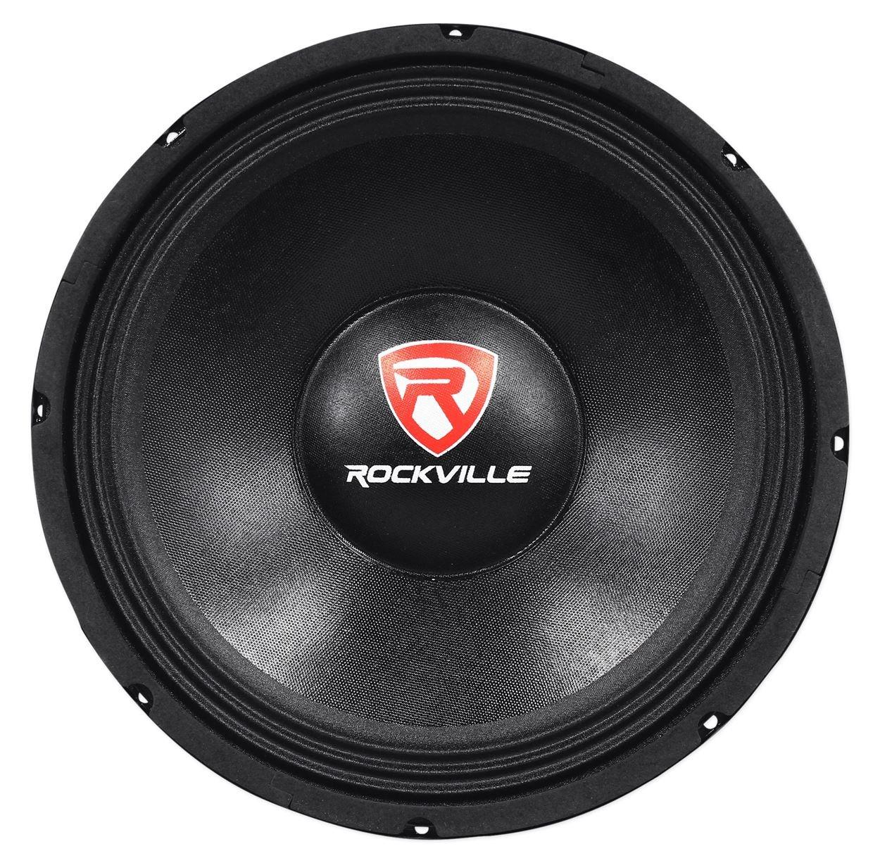 Rockville RVP12W4 600 Watt 12'' Raw Replacement DJ PA Subwoofer 4 Ohm Sub Woofer by Rockville