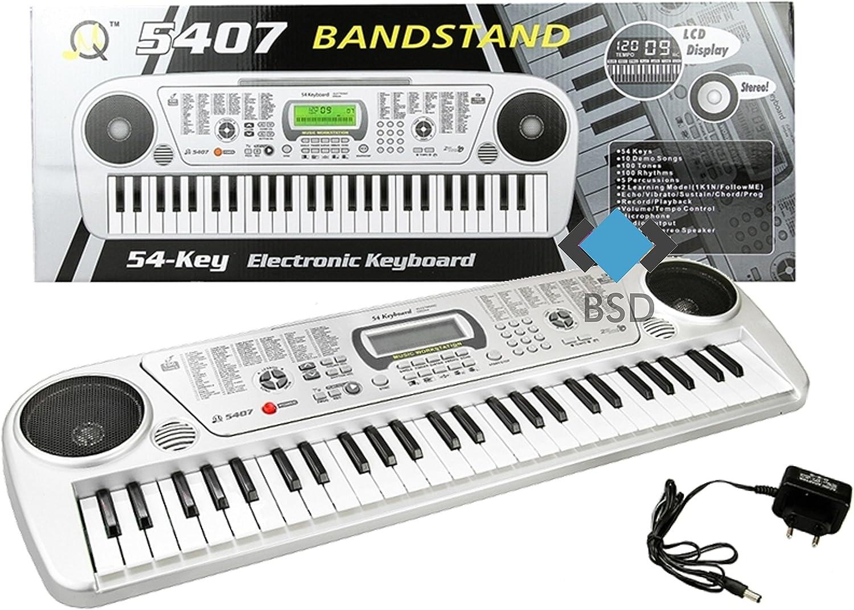 Teclado MQ5407 con función de grabación y un micrófono - 100 ...