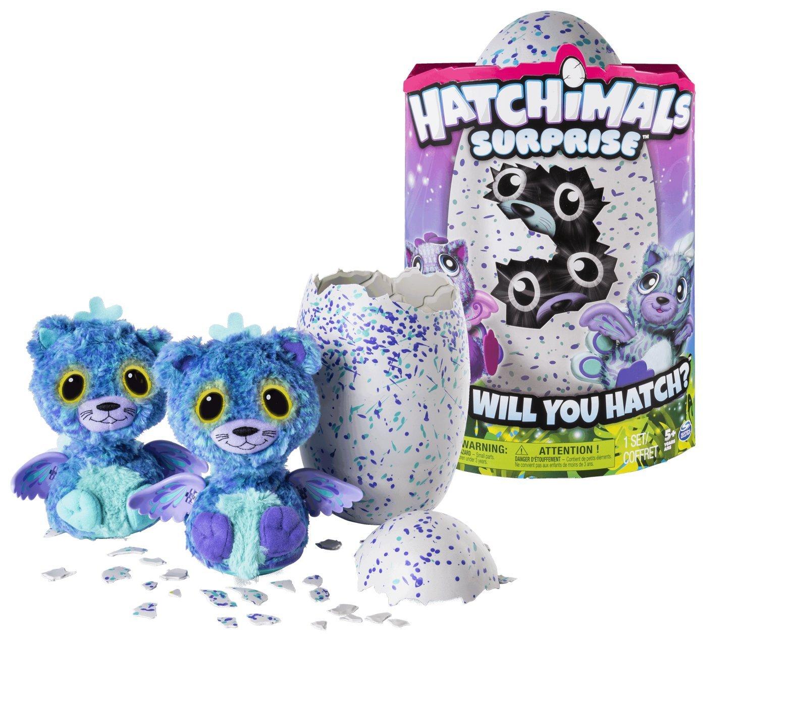 Hatchimals Surprise Peacat Purple Egg Playset by Hatchimals Surprise (Image #1)
