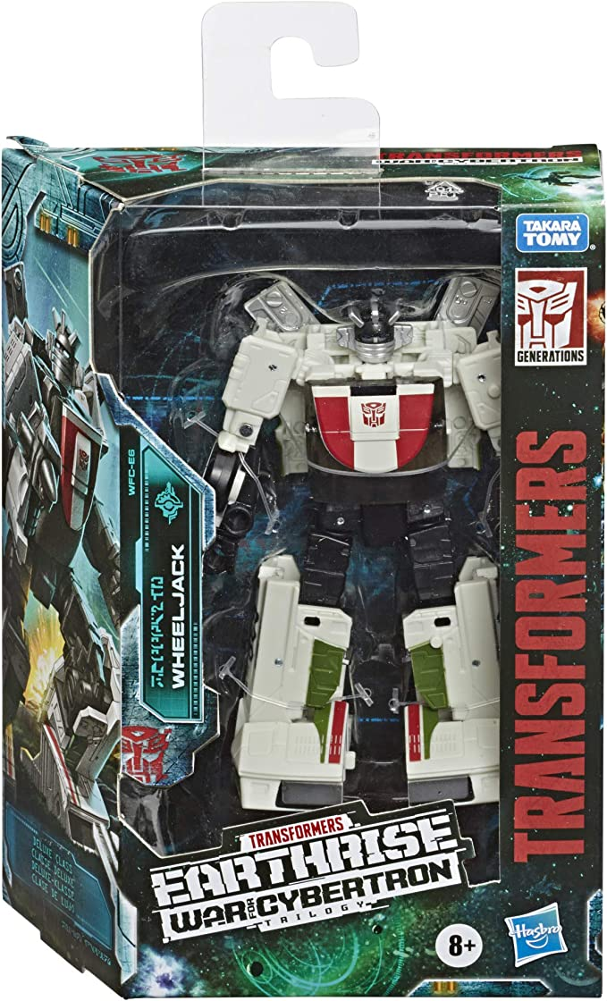 Transformers Generations WHEELJACK Complete Deluxe G1 Classics