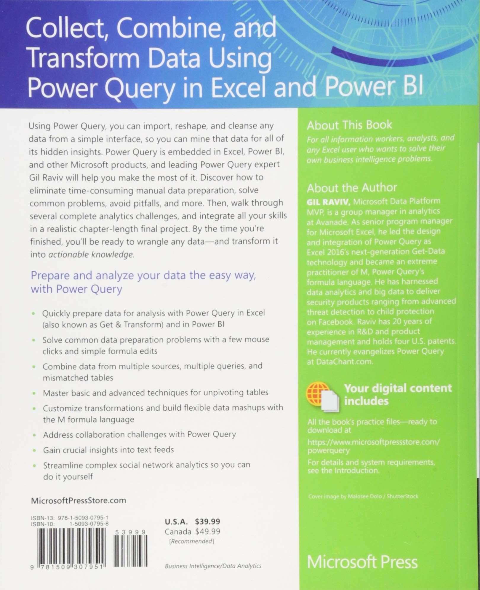 Collect, Combine, and Transform Data Using Power Query in Excel and
