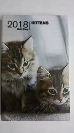 Agenda Tavecchi 2018 Daily 9 x 14 gatitos gatos