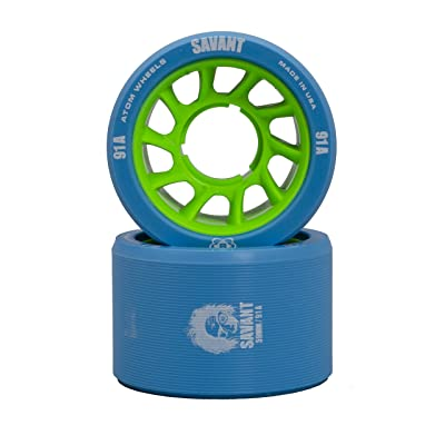 Atom - Roller Derby Roue Savant Blue 59mm-91a - Taille:one Size